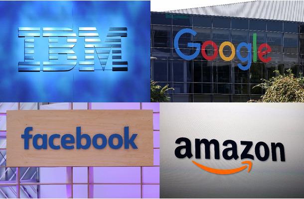 Amazon、Google、Facebook、IBM...