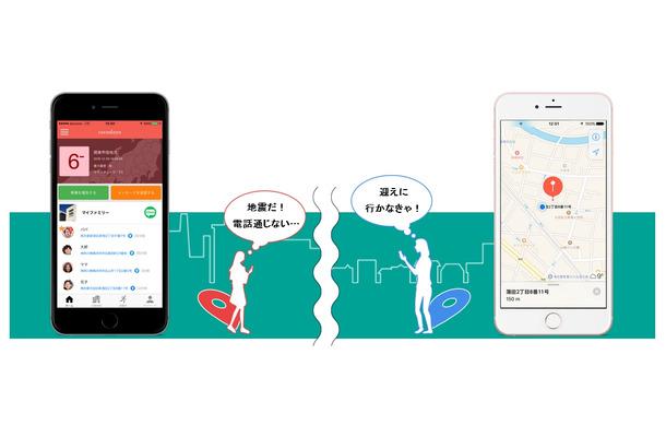 災害時だけ家族の位置情報共有!防災アプリ「ココダヨ」 | RBB TODAY