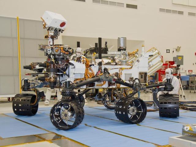 NASA、25日に火星探査機「Curiosity」を打ち上げ 火星探査機「Curiosity(キ