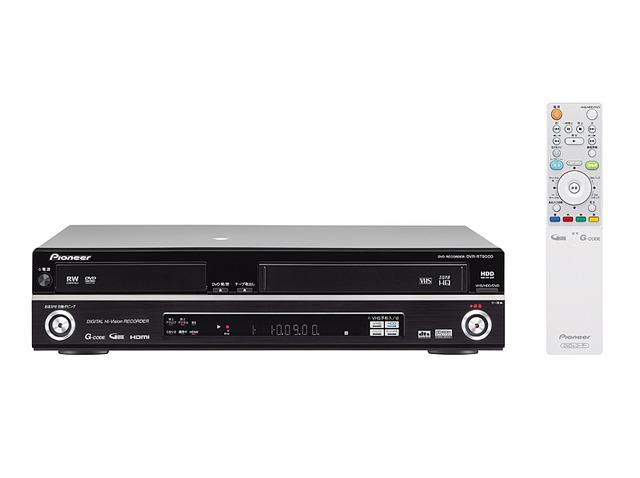 パイオニア、外付けHDDを増設できるHDD&DVDレコーダー4機種 DVR-DT900Dこの写真