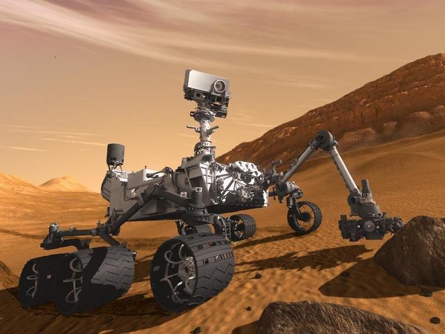 火星探査機キュリオシティの着陸は8月6日、NASAが発表 火星探査機「Curiosity(キュリ