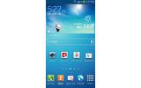 GALAXY S4「TouchWiz標準ホーム」の画像