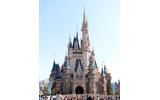 東京ディズニーランドのシンデレラ城 (c) Disneyの画像