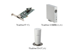 NEC、世界初の技術「ExpEther」を用いた製品を発売