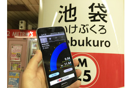 【SPEED TEST】東京メトロでJapan Connected-free Wi-Fiを試す