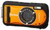 アウトドア向けタフコンデジ「PENTAX Optio W90」に鮮やかなオレンジを追加