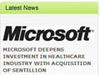 米マイクロソフト、ヘルスケアソフトのSentillionを買収