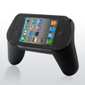 「iPhone・iPod touchゲームグリップ(iPhone4対応) 400-JY002」(iPhone/iPod touchは別売)