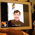 「FaceTime」の表示画面