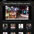記念ページ「Discover your world on Twitter」