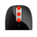 「Microsoft Explorer Touch mouse」3ボタンのイメージ
