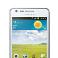 「GALAXY S II SC-02C」(Ceramic White)