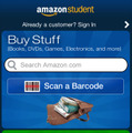 iPhone/iPod Touchアプリ「Amazon Student」