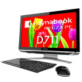 「dynabook REGZA PC D711」斜め