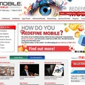 「Mobile World Congress2012」サイト(画像)