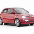 「Fiat 500new red」