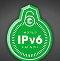 「World IPv6 Launch」ロゴ(バッジ)