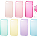 「SoftBank SELECTION パステルケース for iPhone 5」