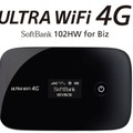 ULTRA WiFi 4G SoftBank 102HW for Biz(Huawei製)
