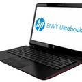 14型液晶Ultrabook「ENVY TouchSmart Ultrabook 4」のブラック・レッド