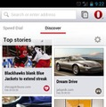 Opera for Android、Discover