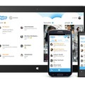 「Skype for Android 4.0」画面イメージ