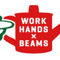 WORK HANDS × BEAMSロゴ