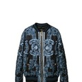 Chain Medusa Silk Bomber Jacket(ブルー)