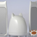 2.1ch multimedia CatSpeaker for iPod/MP3