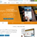 「Salesforce ExactTarget Marketing Cloud」紹介ページ