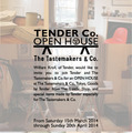 「TENDER Co. OPEN HOUSE」