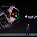 Apple、LTE通信も可能な「Apple Watch Series 3」を発表!