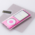 「Crystal Case for iPod nano(4th)」(TR-CSNN4-CL)のセット内容(iPod本体は別売)