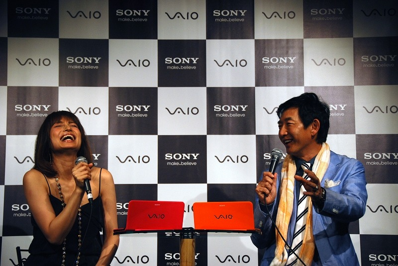 「SONY NEW VAIO P Series」発表会