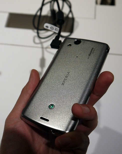 Xperia arc SO-01C「Misty Silver」