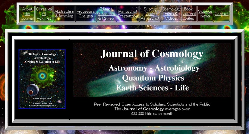 「The Journal of Cosmology」