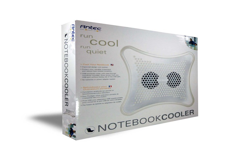 NoteBook Cooler(Pearl) パッケージ
