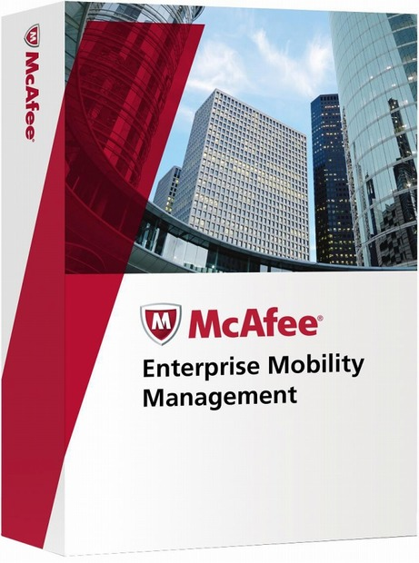 「McAfee Enterprise Mobility Management」パッケージイメージ