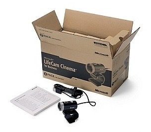 Microsoft Hardware for Business 5台入り梱包形態の一例(LifeCam Cinema for Business)