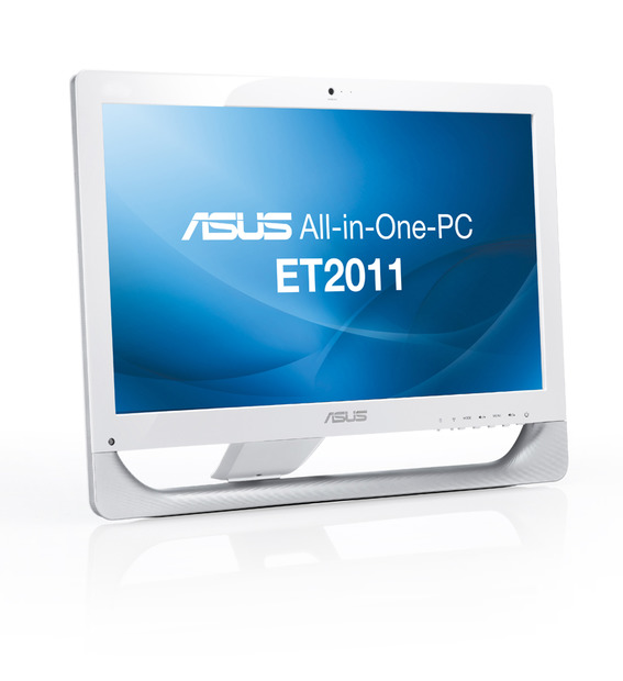 「ASUS All-in-One PC ET2011AUTB」ホワイト