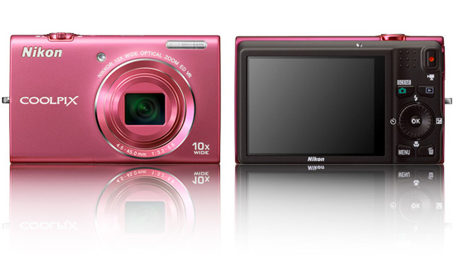 「COOLPIX S6200」チェリーピンク