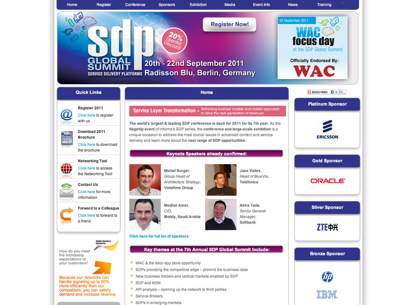 SDP Global Summit