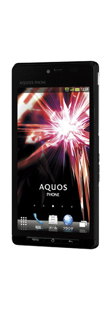 「AQUOS PHONE SoftBank 102SH」(ブラック)