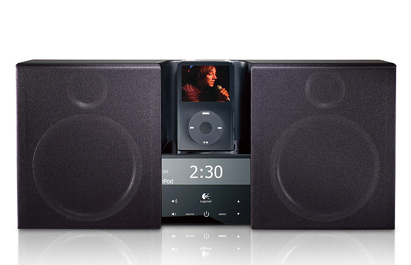 AudioStation high-performance stereo system for iPod