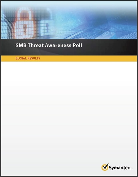 「SMB Threat Awareness Poll Global Results 2011」表紙