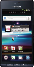 「AQUOS PHONE SH-01D」Black