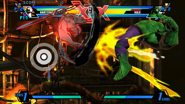 PSVita版 ULTIMATE MARVEL VS. CAPCOM 3 レポート