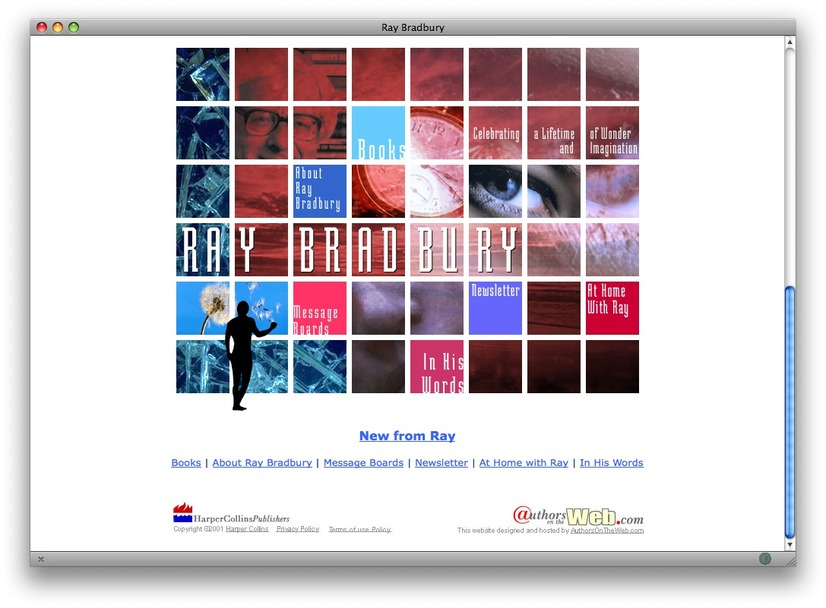 Ray Bradbury official site
