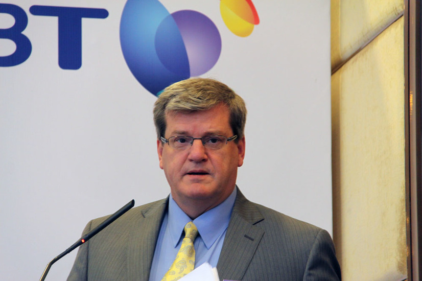 BT Global Services CEO Jeff Kelly氏