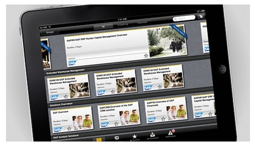 SAP Learning Assistant画面